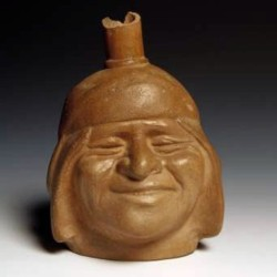 Moche Pottery Portrait