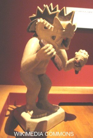 Moche Pottery the Decapitator