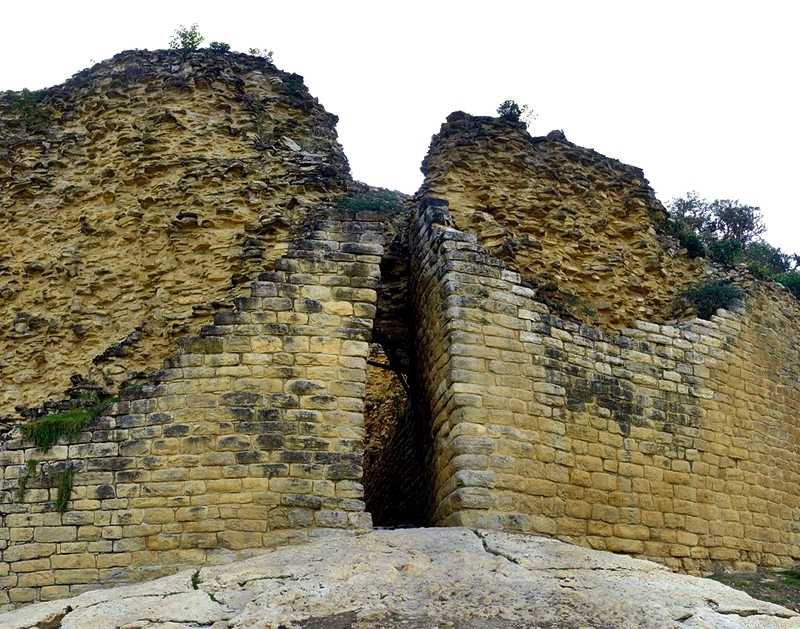 Kuelap - Fortress Entrance