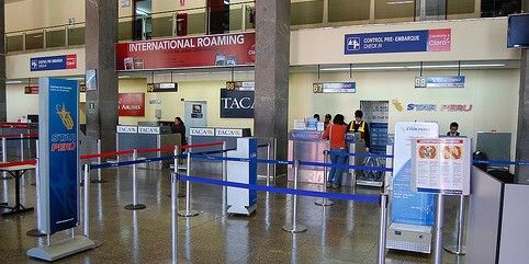 Cusco airport check in counters