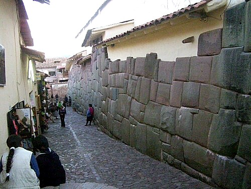 Inca Architecture in Cusco, Peru