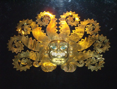 Inca Art - Gold Headdress