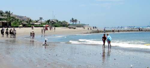 Mancora Peru Beaches and Sunsets - fun in the sun