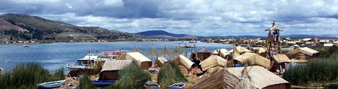 Floating Islands Puno Lake Titicaca