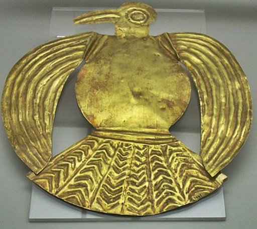 Gold Inca Bird