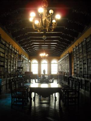 Library of Santo Domingo's Convent