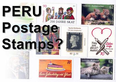 Postage Stamps in Peru?